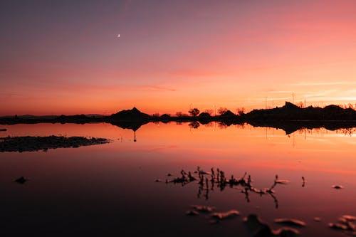 Gratis arkivbilde med solnedgang, solnedgang himmel, vakker solnedgang