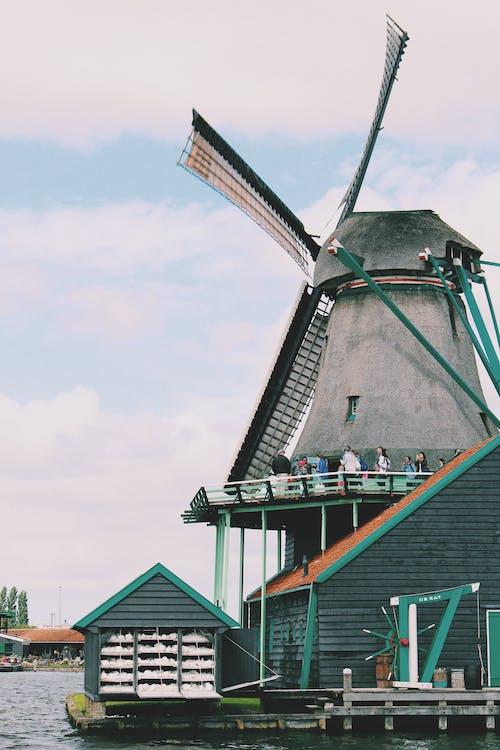 Альтернативная энергия, архитектура, ветер