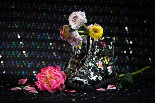 Základová fotografie zdarma na téma boty, flóra, holinky, jasný