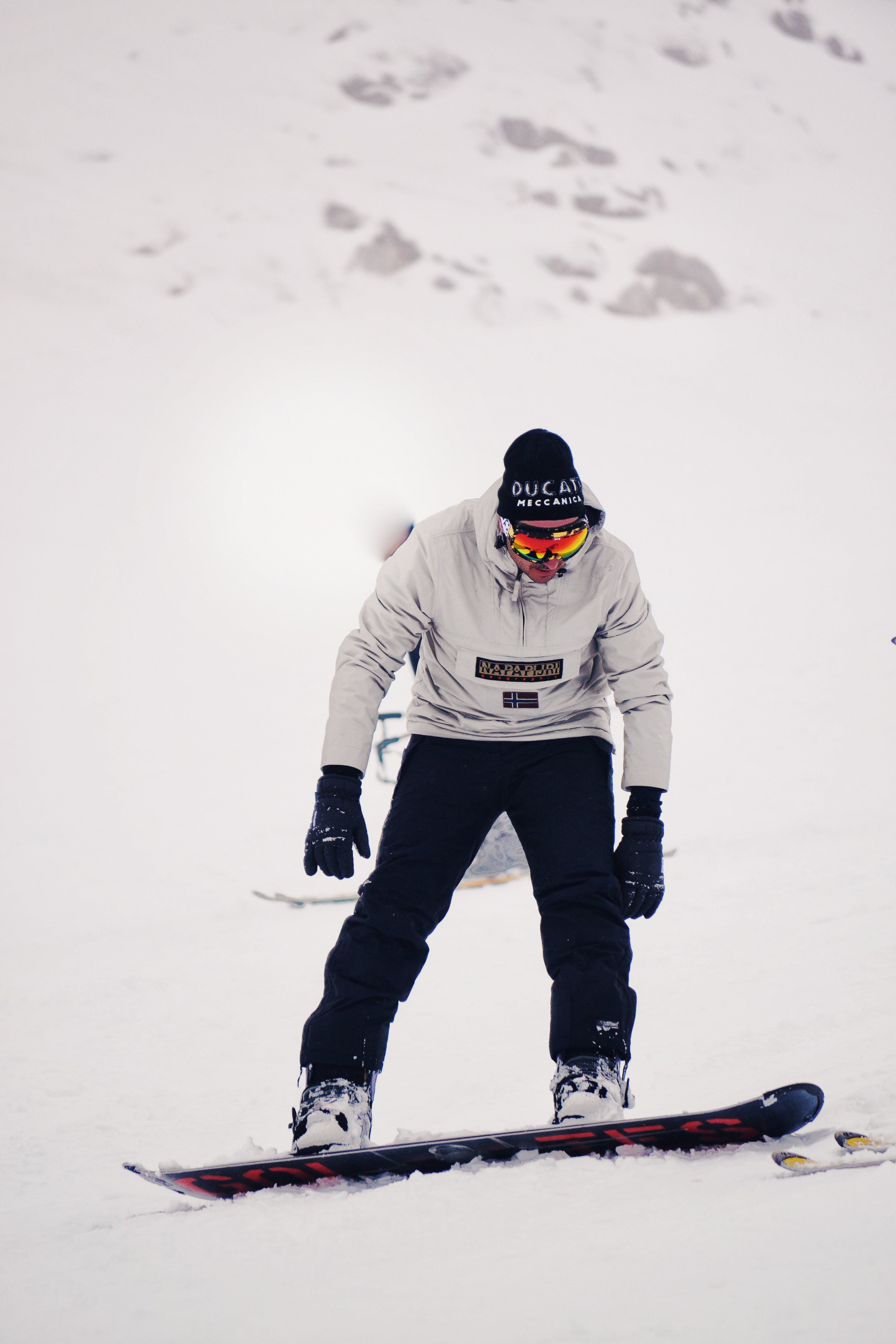 Free stock photo of cold, snow, man, winter
