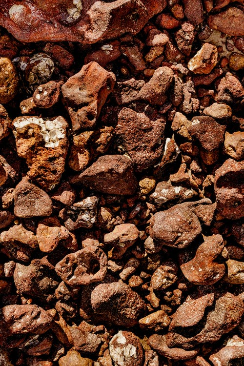 drsný, geologie, hnědá