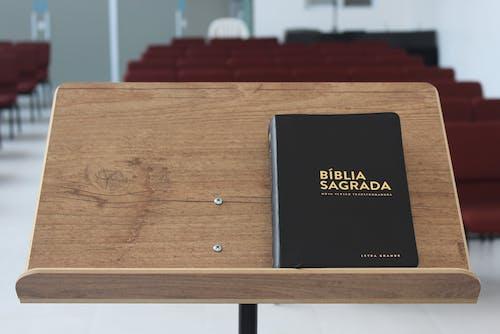 Ingyenes stockfotó beltéri, Biblia, fa témában