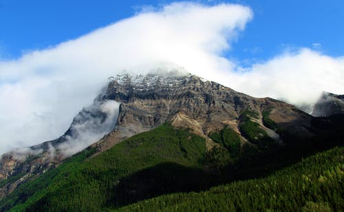Free stock photo of british columbia, canada, clouds, giant mountains