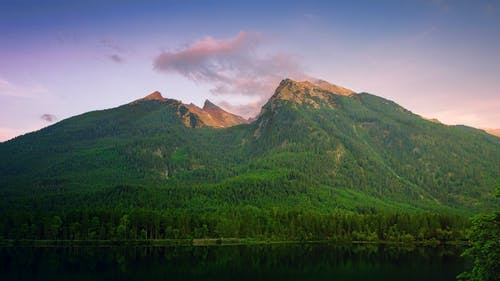 Scenic Photo Of Mountains During Dawn