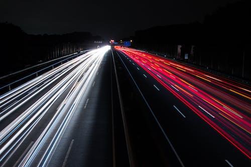 Foto d'estoc gratuïta de acció, asfalt, autopista