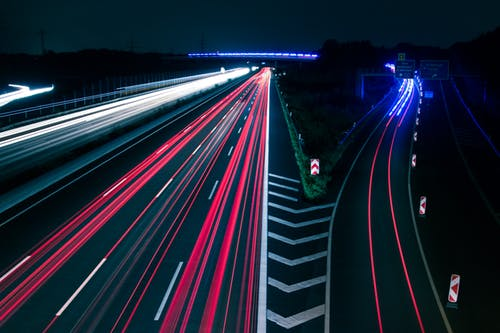 Imagine de stoc gratuită din asfalt, autostradă, autoturisme, centrul orașului