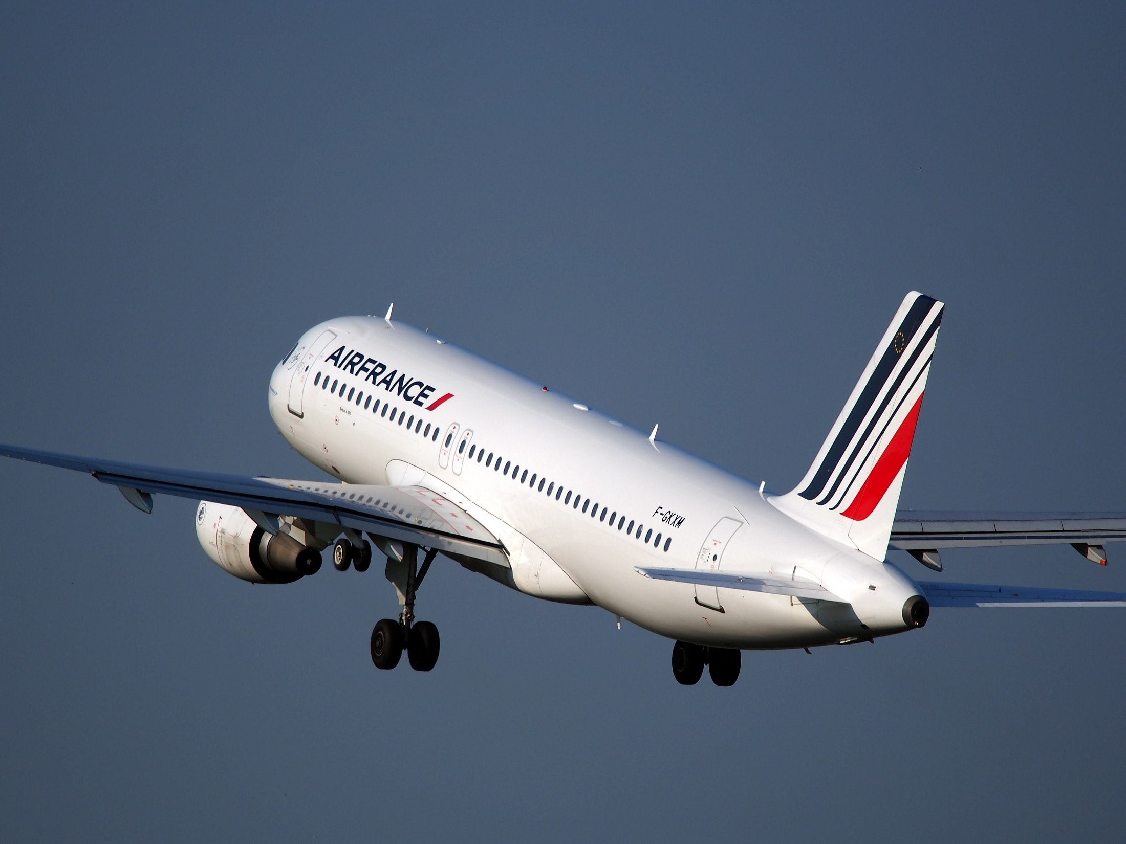 Free stock photo of a320, air france, aircraft