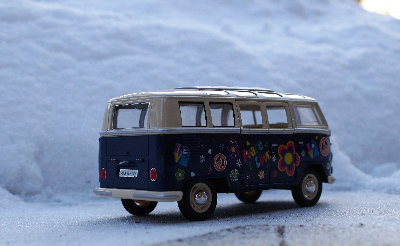 Free stock photo of snow, winter, vehicle, vintage