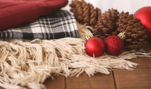 wood, red, holidays