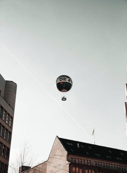 Fotobanka sbezplatnými fotkami na tému architektúra, balón, budova, cestovať