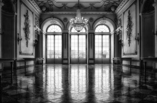 Photos gratuites de à l'intérieur, architecture, arcs, art