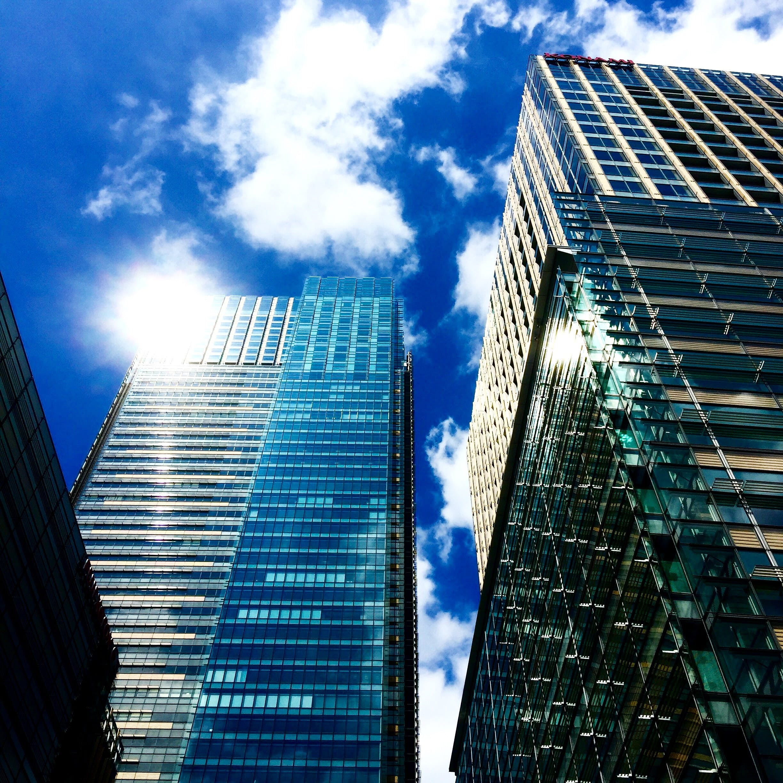Gratis stockfoto met architectuur, Azië, binnenstad, blauwe lucht