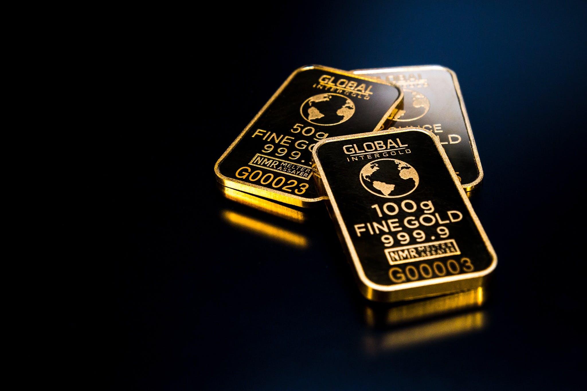 Δωρεάν στοκ φωτογραφιών με εμπόριο, επένδυση, πλούτος, ράβδοι χρυσού