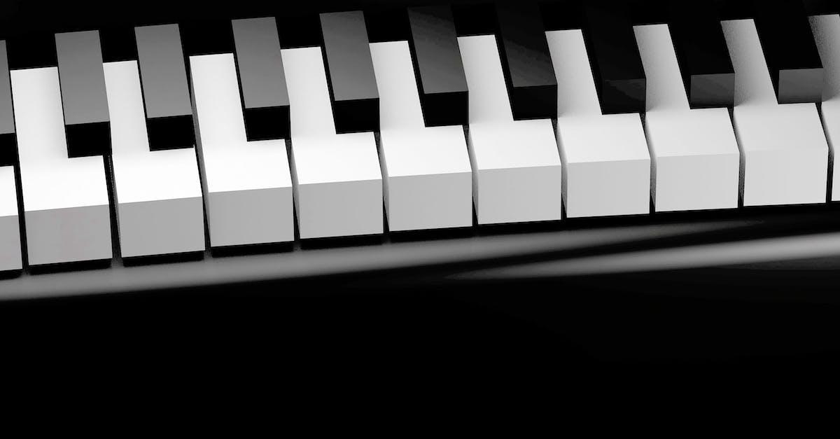 Картинка с клавишами фортепиано