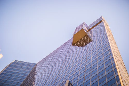 Kostenloses Stock Foto zu aufnahme von unten, büro, business, finanzen