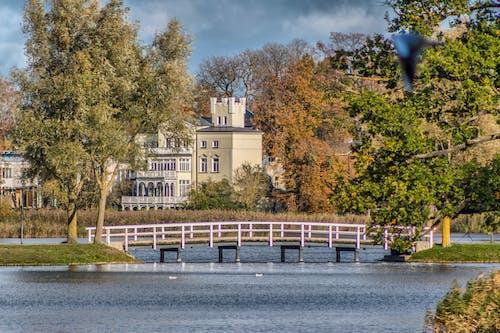 Free stock photo of autumn, bridge, colors of autumn, lock