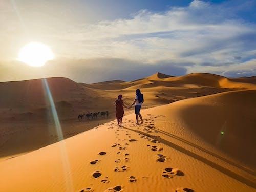Free stock photo of desert, merzouga, morocco
