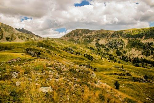Darmowe zdjęcie z galerii z chmury, daleko, dolina, drzewa