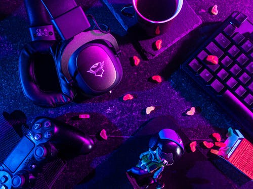 Free stock photo of candy, controller, esport, eSports