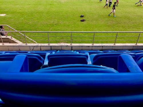 Photos gratuites de arène de football, banquette arrière, des stands, foot