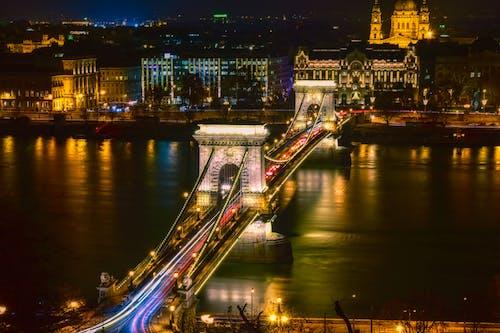 Ilmainen kuvapankkikuva tunnisteilla arkkitehtuuri, Budapest, hidas suljin, historiallinen