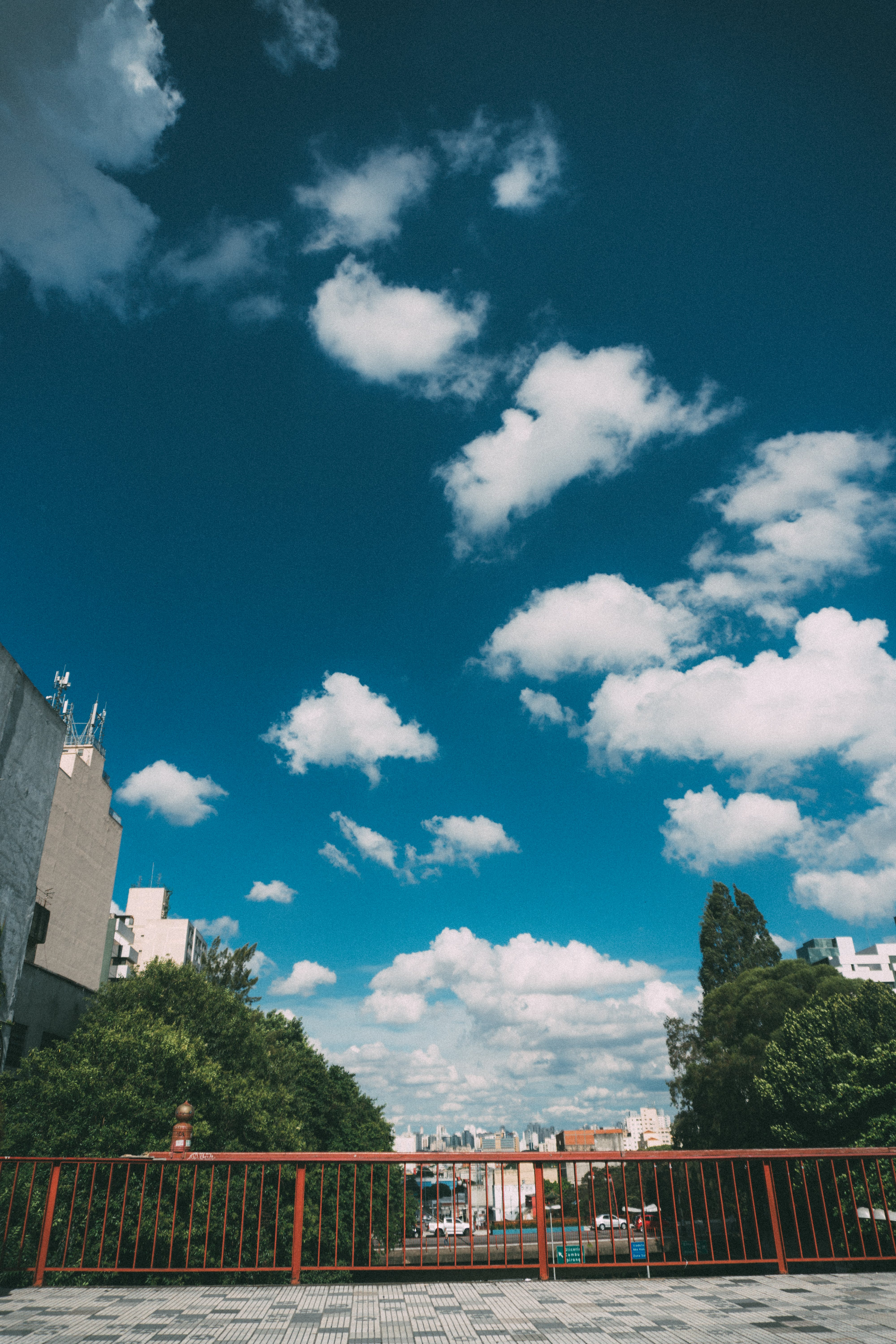 Free stock photo of city, landscape, nature, clouds