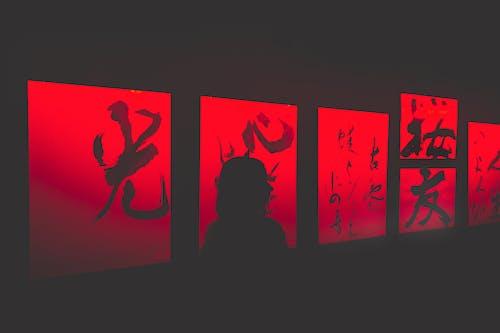 展覽, 日本, 紅燈, 艺术品 的 免费素材图片