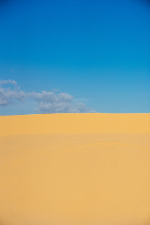 Photo of Desert Under Blue Sky