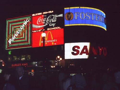Základová fotografie zdarma na téma centrální londýn, inzerce, křižovatka, Londýn