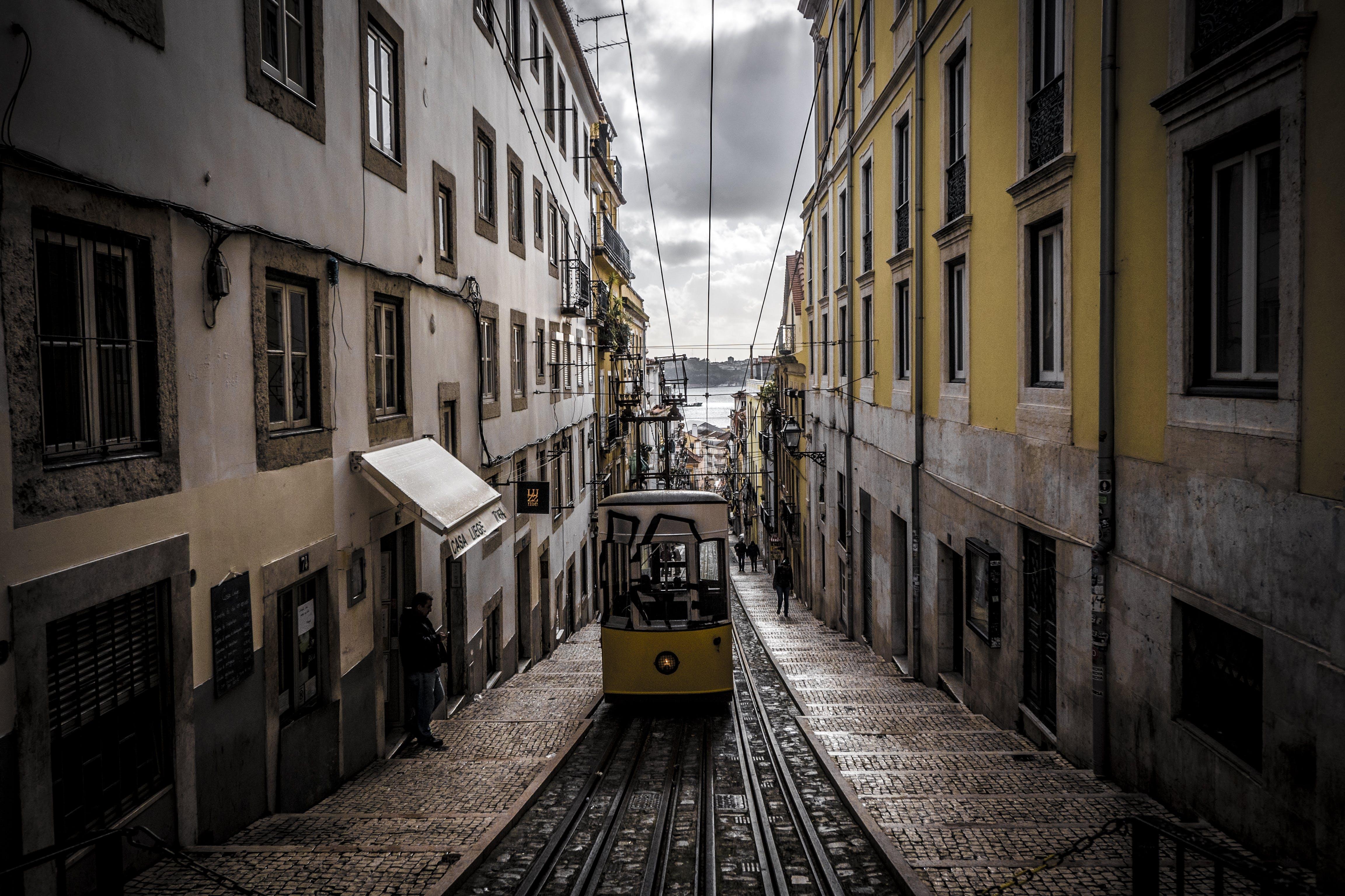 Free stock photo of streetcar, train