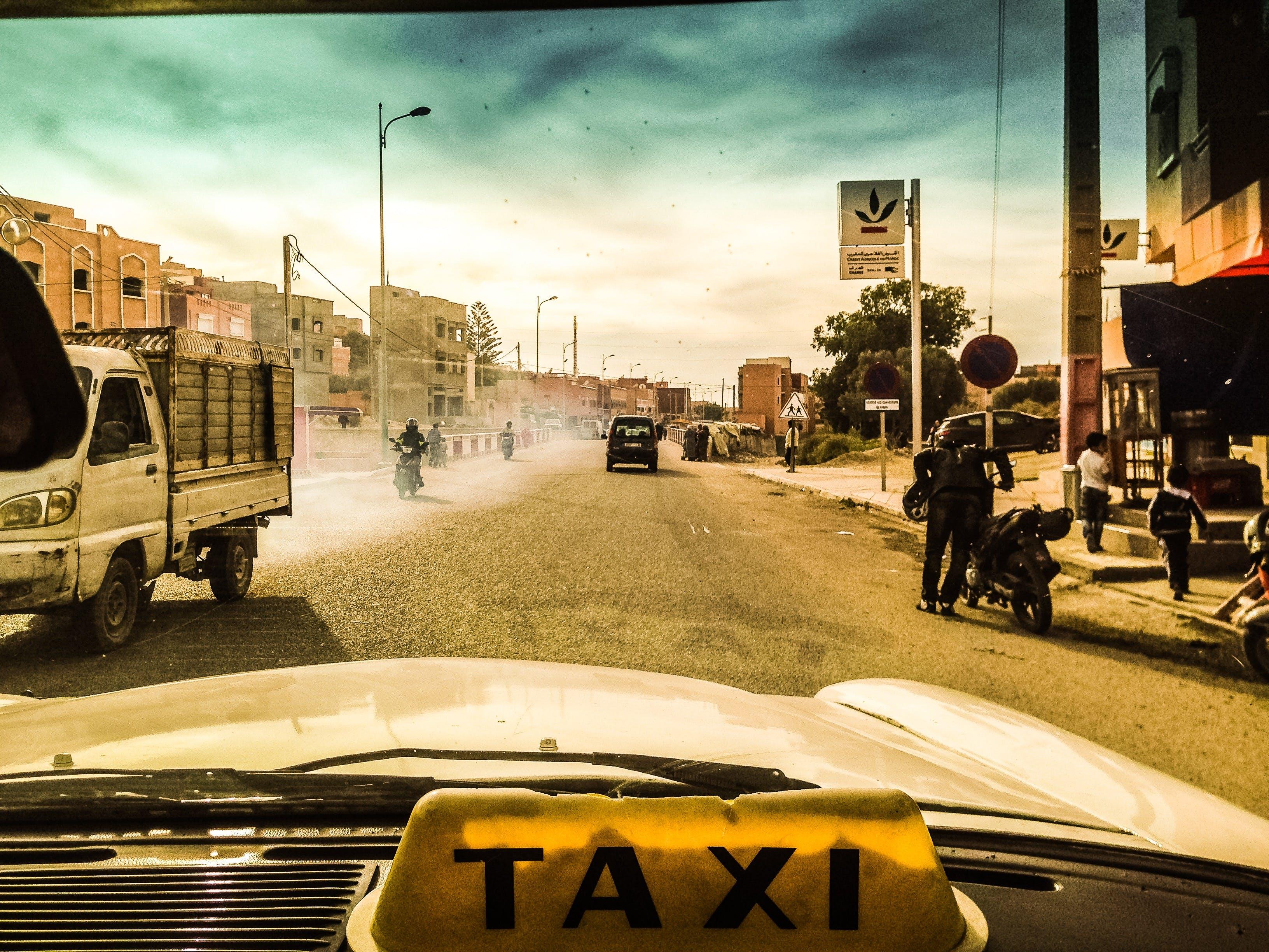 Free stock photo of cab