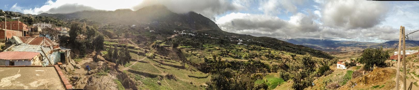 Free stock photo of mountains, panorama, mountain range