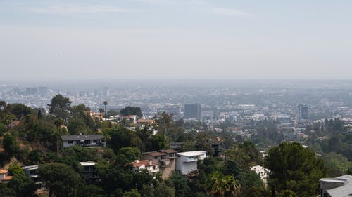 Free stock photo of city, hills, hollywood, la