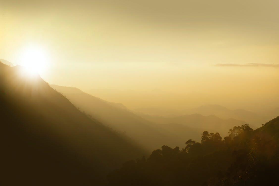 Ανατολή ηλίου, απόγευμα, αυγή