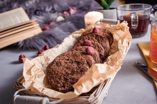 Gratis stockfoto met chocolade, cookies, eten, gebak