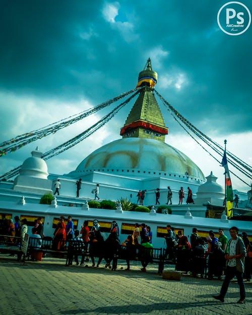 Kostenloses Stock Foto zu boudhanath, boudhanath stupa, buddha