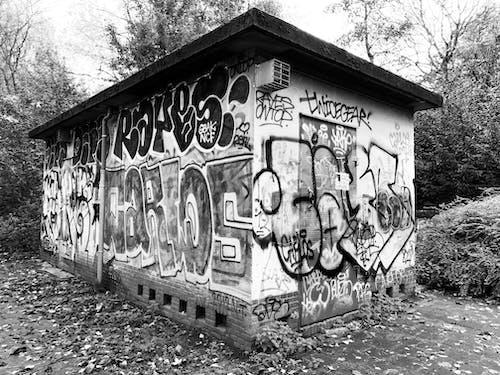 Foto d'estoc gratuïta de decaïment urbà, graffiti