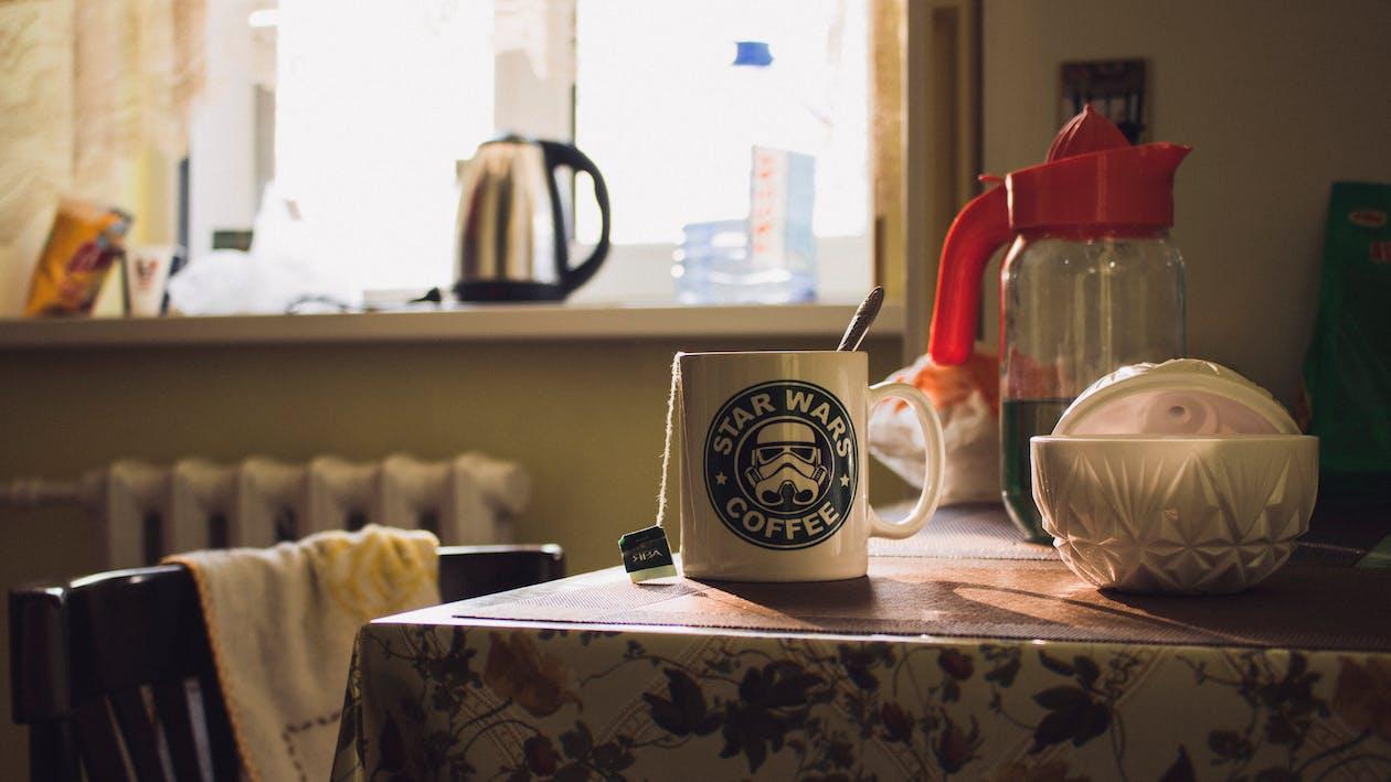 Star Wars Ceramic Mug on Table