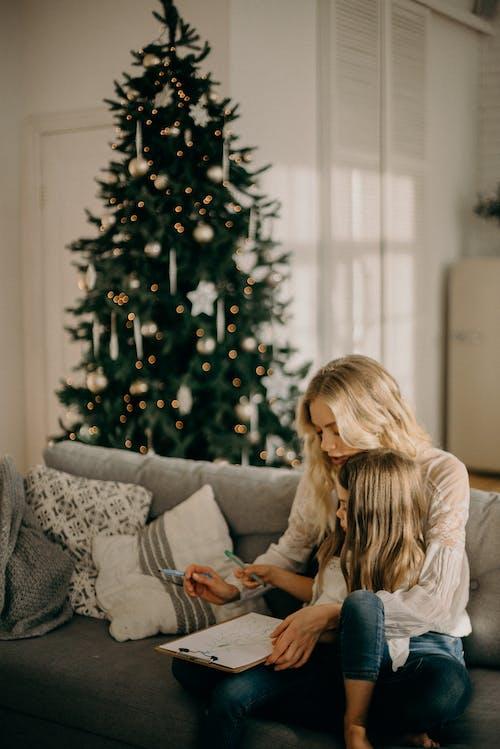 Fotos de stock gratuitas de adentro, amor, árbol, árbol de Navidad