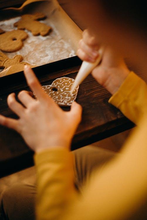 cookies, design, jídlo