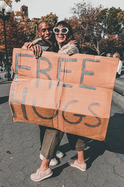 人, 喜悅, 城市, 女人 的 免费素材照片