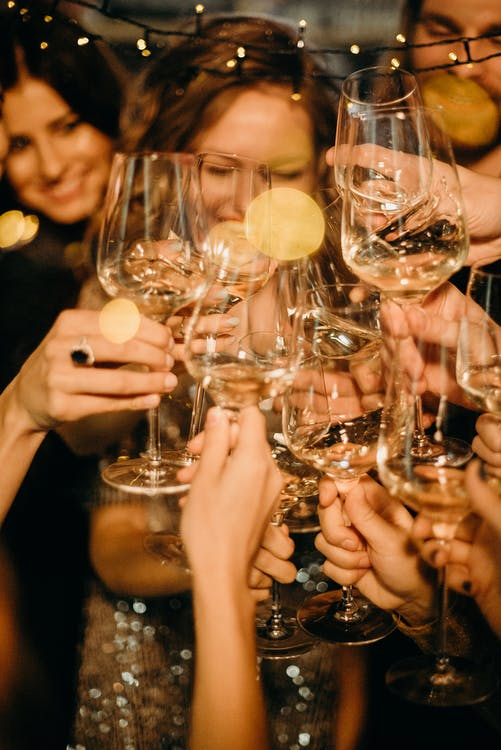People Doing Cheers