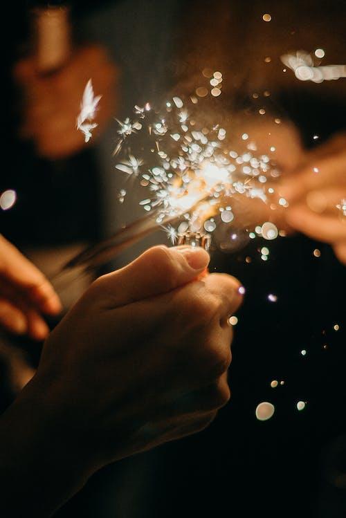 光, 光線, 新年, 有趣 的 免费素材照片
