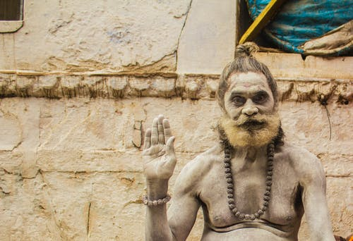 Free stock photo of godman, holyman, india