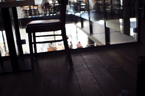 Free stock photo of bar cafe, restaurant, wooden chair