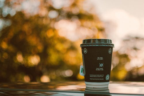 Photo of Black and White Coffee Cup