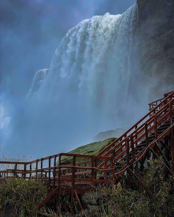 niagra, водопады, природа