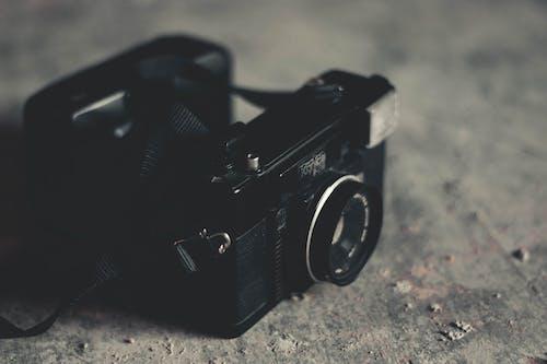 Foto stok gratis analog, antik, bukaan, kamera