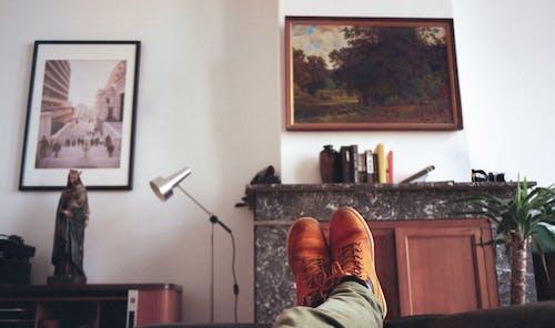 Foto d'estoc gratuïta de edifici interior, fotografia analogica, pintant, pintura