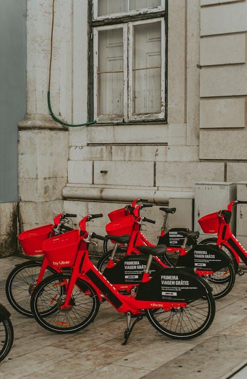 Ingyenes stockfotó biciklik, közlekedési rendszer, Lisszabon témában